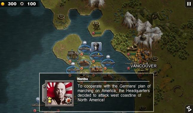 Glory of Generals :Pacific HD android apk - Screenshoot