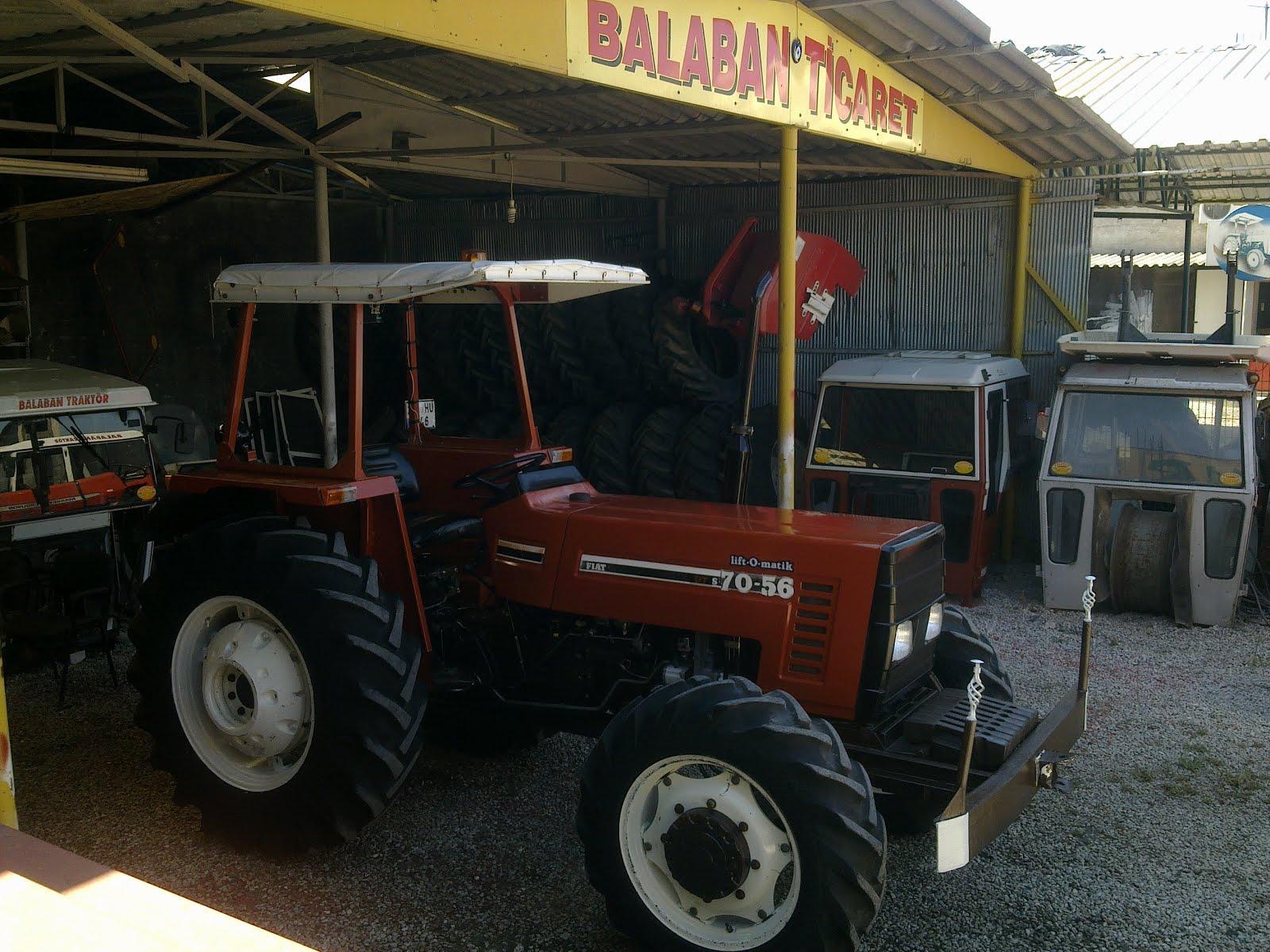 1997 model 70-56 s dt Çİft Çeker fİat traktÖr | balaban traktÖr