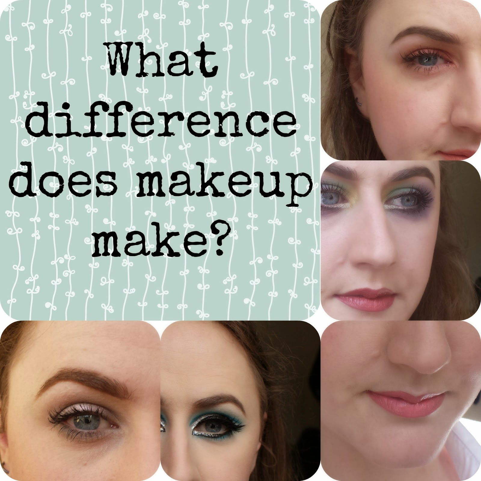 What difference does makeup make?