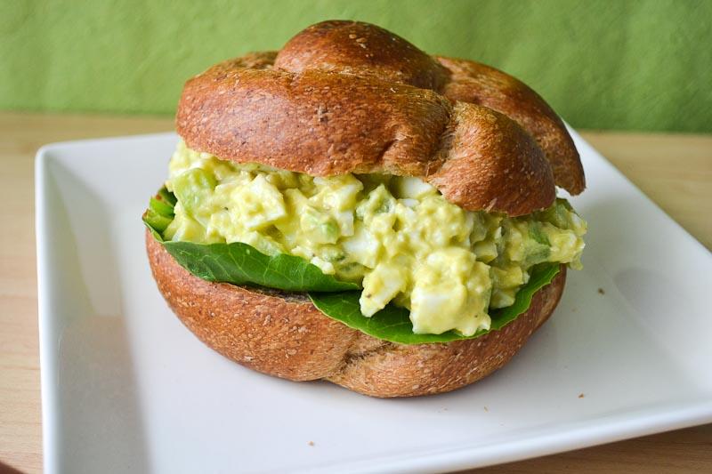 Oishii Treats: Avocado Egg Salad Sandwich
