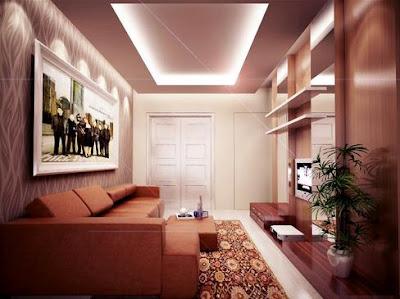 Design Ruang Tamu Minimalis Modern