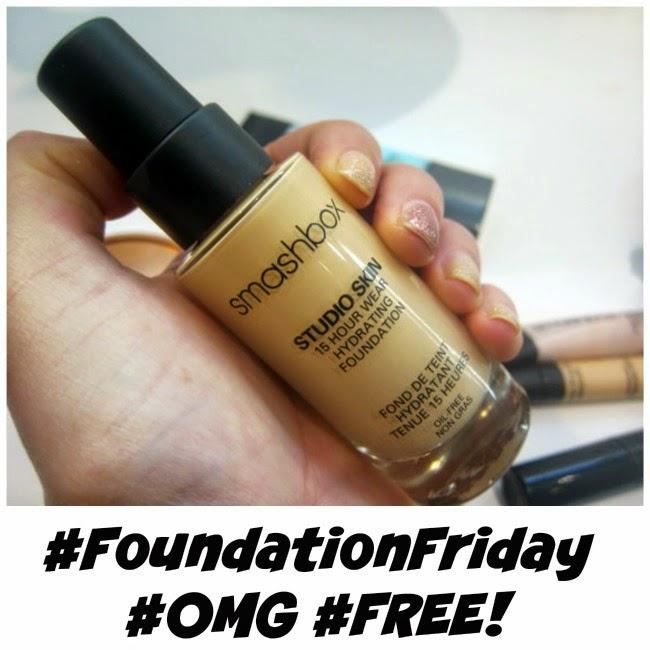 Smashbox Foundation Friday