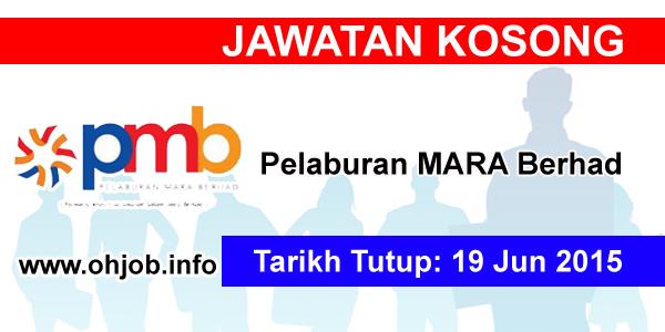 Jawatan Kerja Kosong Pelaburan MARA Berhad logo www.ohjob.info jun 2015