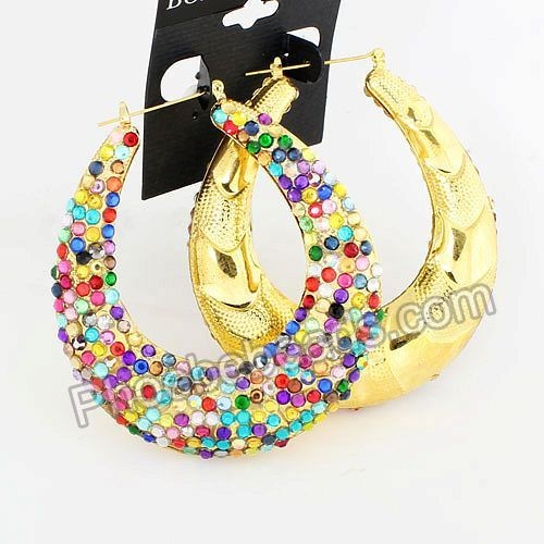 Bamboo Earrings Wholesale4