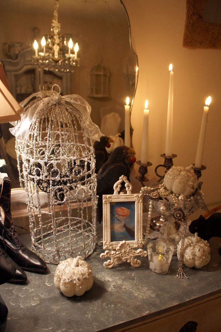 My Romantic Home Making Halloween Elegant Show And Tell