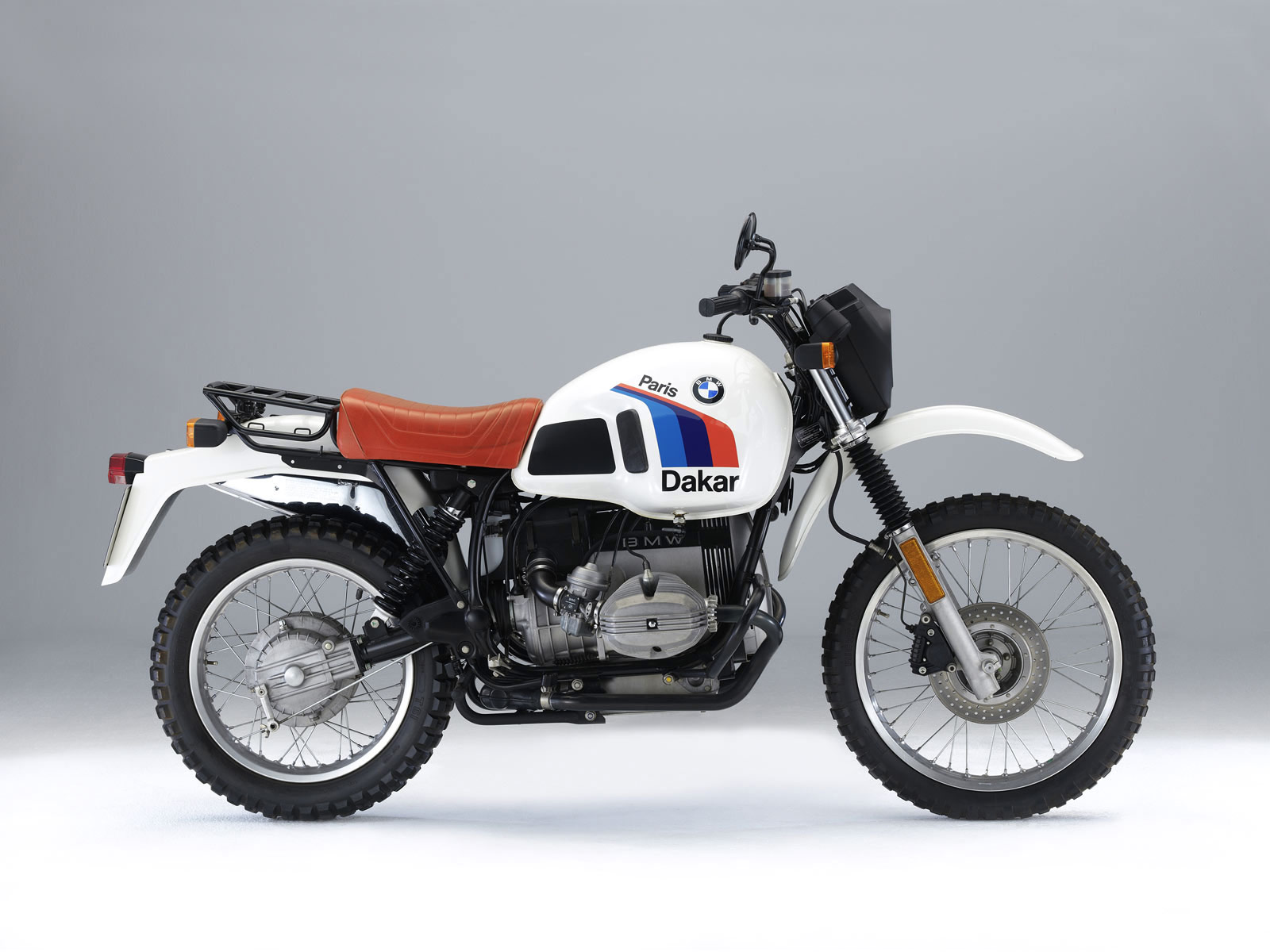2010 BMW R80GS Paris Dakar Motorcycle Wallpapers
