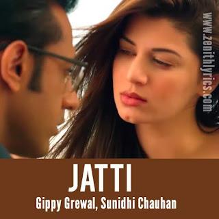 Mere Rag Rag Vich Jatti Lyrics - Gippy Grewal