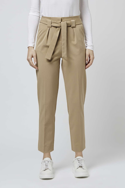 sand coloured trousers, tie waist trousers,