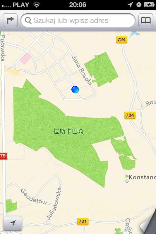 Un parc chinois au milieu d'une ville polonaise