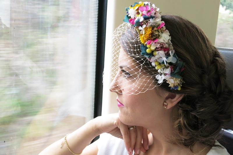 DEF Deco - Decorar en familia: Diy diadema de flores preservadas y secas14