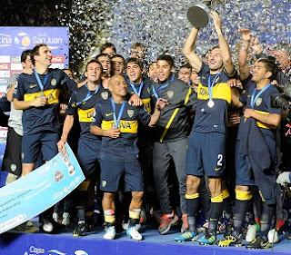 FÚTBOL-Boca Juniors campeón de la Copa Argentina