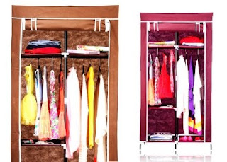 Nearbuy : Buy Folding Wardrobe Cupboard Almirah-IV-C , worth Rs.1999 at Rs.825. only – Buytoearn