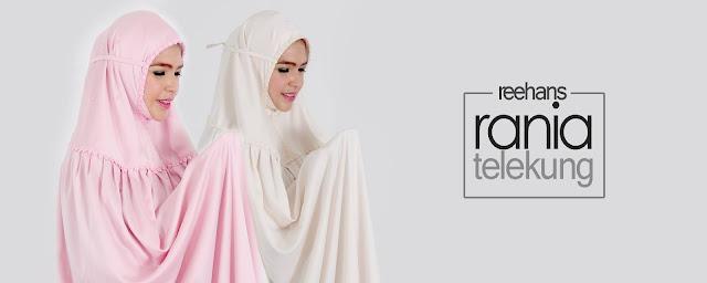 Beli Telekung Reehans Pilihan Muslimah