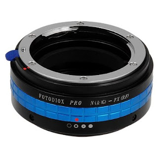 Fotodiox Pro Lens Mount Adapter, Nikon G Lens to Fujifilm X Camera Body