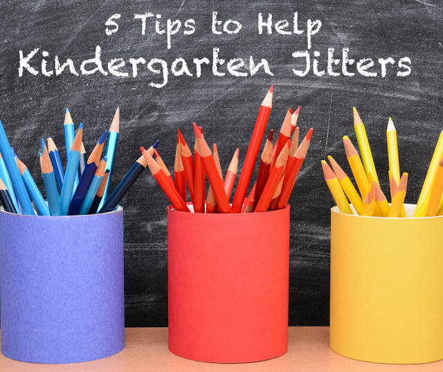 First Day of Kindergarten, Tips to help Kids Transition to Kindergarten, Kindergartners, Kindergarten Jitters