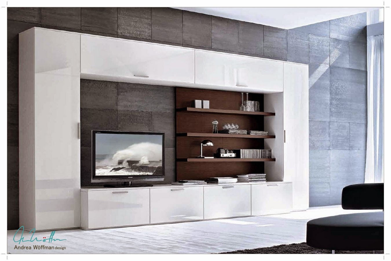 Mueble Tv A Medida Affordable Composicin Para Saln A Medida Con  # Muebles Toscano Cordoba