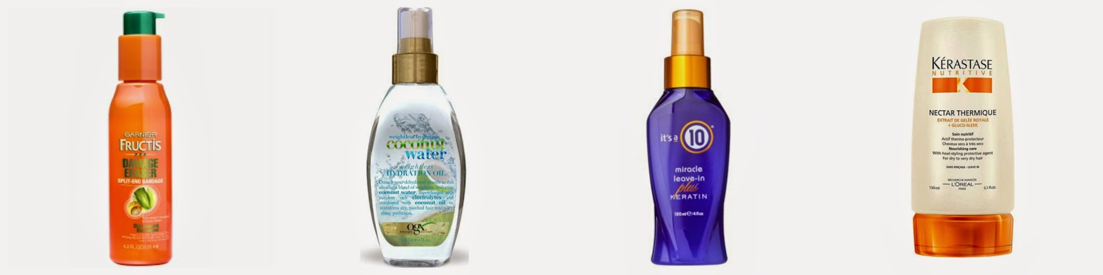 leave in conditioner to fight the sun, frizz, and humidity