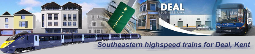 Southeastern highspeed trains for Deal, Kent