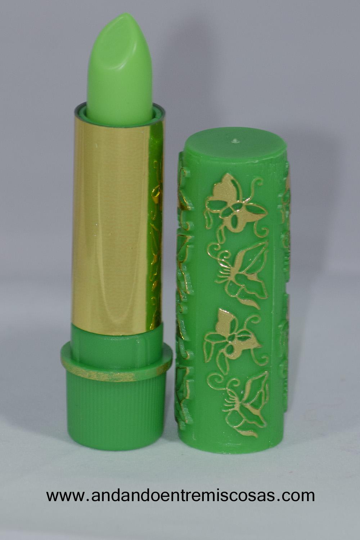 Pintalabios marroquí verde