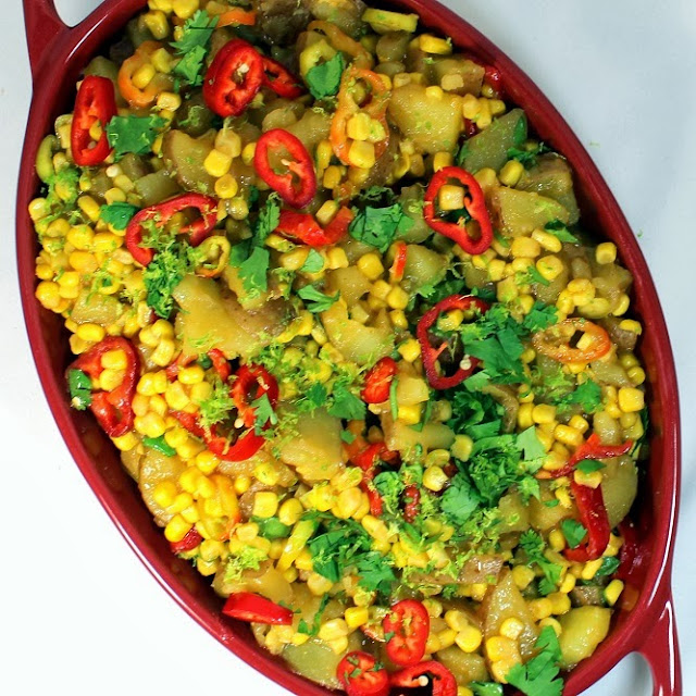 ideas for easy family dinner a eRecipeCards: Yukon Salad By Corn  Potatoes Gold Inspired and Church