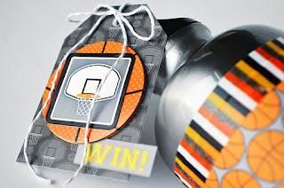 Slam Dunk project by Wendy Sue Anderson for Doodlebug Design - Basketball Gift Idea!