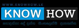 www.knowhow.lk