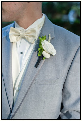Boutonniere - River Stone Manor - Scotia NY - Schenectady - Wedding Flowers - Splendid Stems Floral Designs