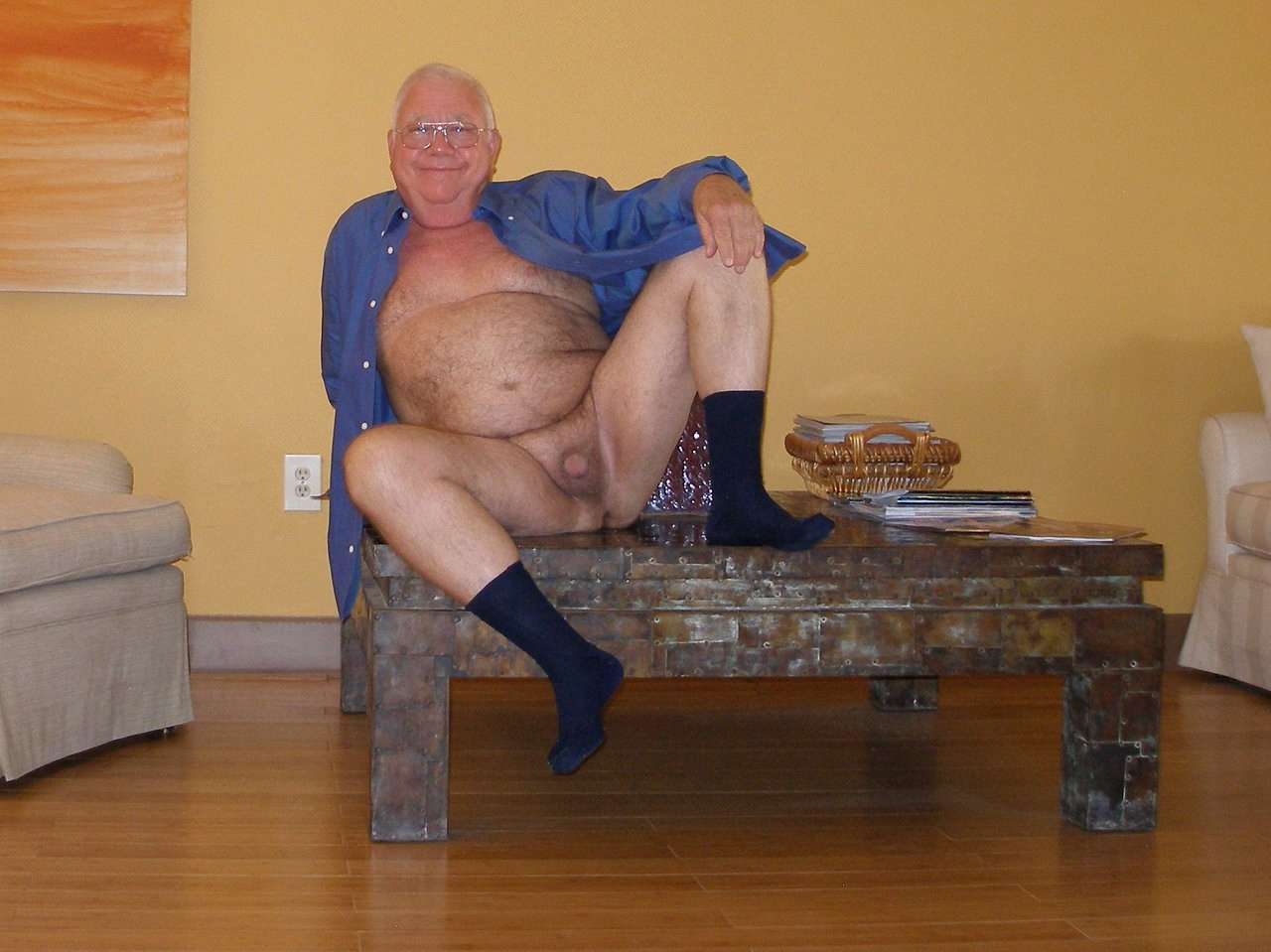 Sweet Grandpa Shows His Cock, Free Gay Porn a9: