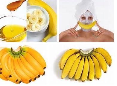 masker buah pisang untuk wajah