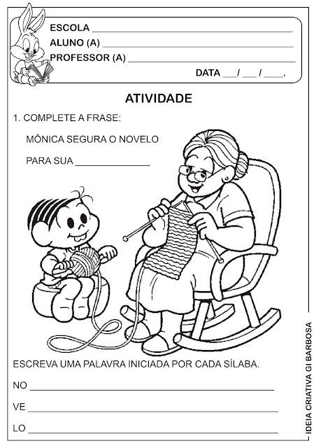 Atividade Dia dos Avós
