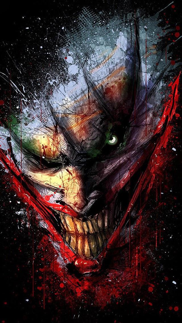 The Joker Art IPhone 5S Wallpaper