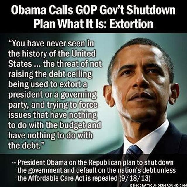 Government Shutdown Obama Let's shut down the EP...