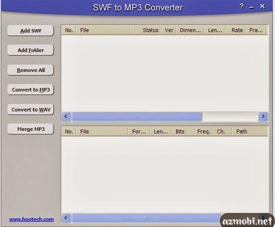 Phần mềm chuyển file SWF thành MP3