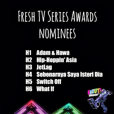 The Shout! Awards 2013 - Fresh TV Series Award Nominees