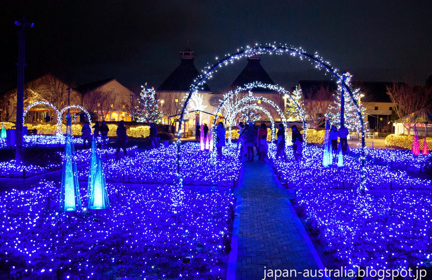 Winter Illuminations at Nabana no Sato