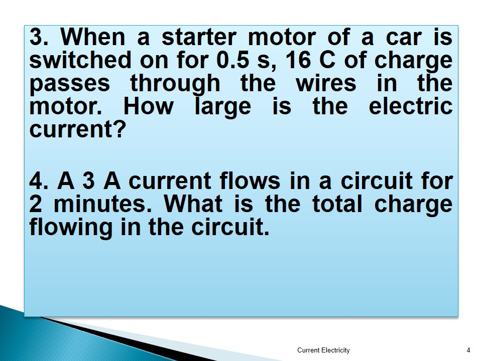 Grade 12: SEMESTER 1 CHAPTER 1 ELECTRICITY