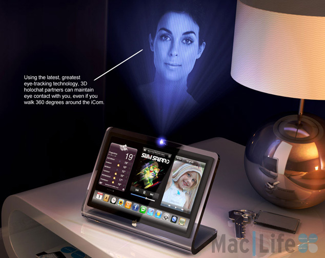 The iCom Apple Concept