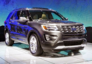 Ford Explorer 2016 Release