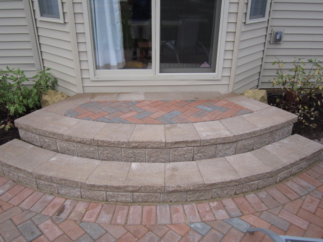 Elegant If Your Brick Paver Contractor Is Stumbling On Recommendations For A Paver Step  Design, It Would Be Beneficial For You To Move On. Make Sure They Supply  You ...