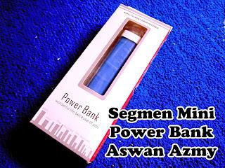 Segmen Mini Power Bank Aswan Azmy