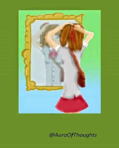 Aura of thoughts- fiction-Pimple Crush Saga
