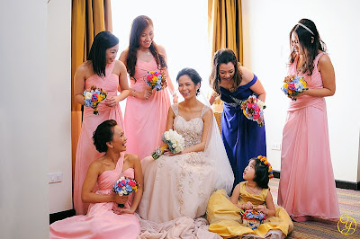 Bridesmaid Dresses Photo by Yap Photography