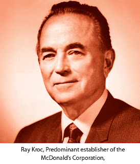 Ray Kroc, Predominant establisher of the McDonald's Corporation