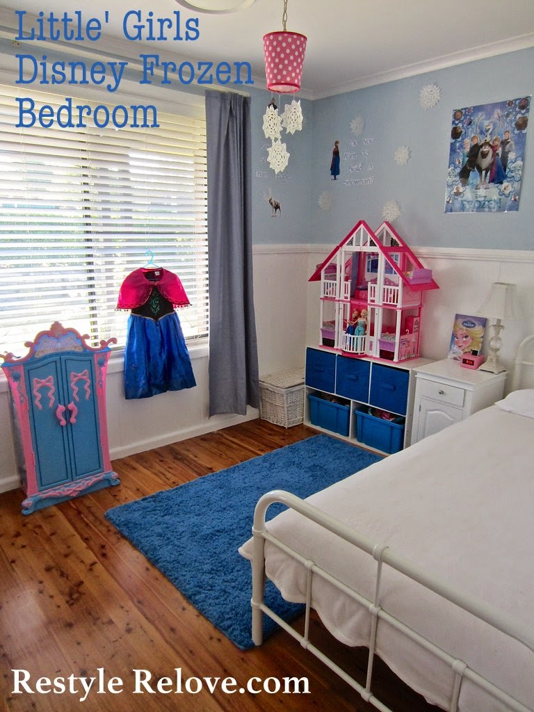 cute furniture youtube bedroom girl watch themed frozen little