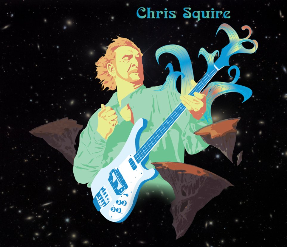 Chris Squire (1948 - 2015)