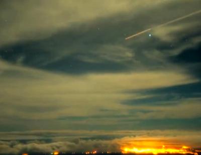 Huge Cigar UFO Seen Above Hawaii On Live Cam, UFO Sightings