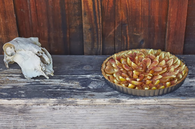 fig crostata fruit tart shortcrust recipe  recipe adapted from elizabeth minchilli