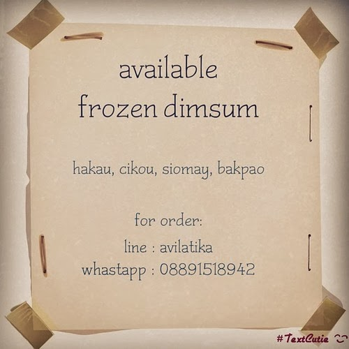 FROZEN DIMSUM DELIVERY