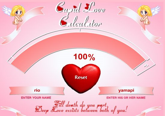 Love calculator trick | love calculator app,love calculator 2.0 | love