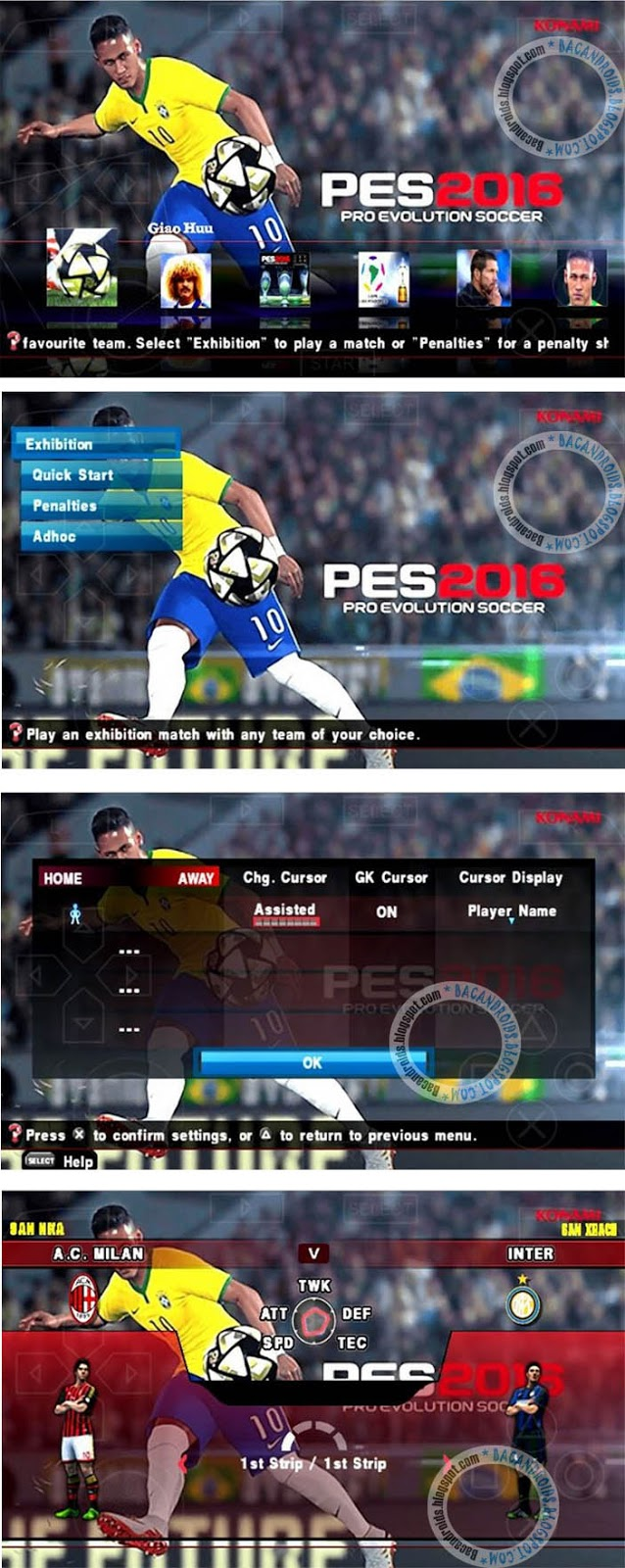 Download Game PES2016 terbaru Android Apk